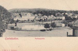 CARLSHAFEN (Bad Karlshafen) , Germany , 1901-07 ; Hafenpartie #2