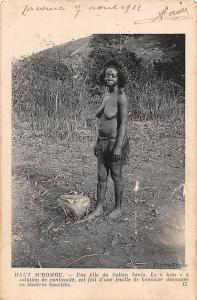 Central African Republic Haut Mbomou Sultan Senio, Native Woman 1912
