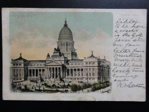 Argentina: Buenos Aires  Palace de Congreso c1905 Old UB Postcard