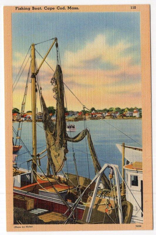 Fishing Boat, Cape Cod, Mass