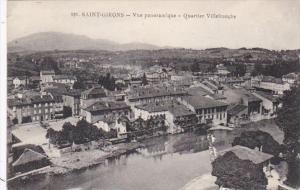 France Saint Girons Vue panoramique Quartier Villefranche