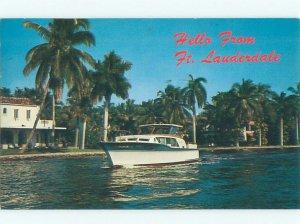 Pre-1980 BOAT SCENE Fort Lauderdale Florida FL AF4493