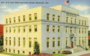 AL - Huntsville. US Post Office and Courthouse