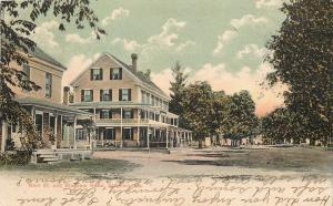 Bingham Maine~Main St~Bingham Hotel~Wrap-Around Porch 1907 Burned Down in 1952