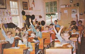 Greetings From The Penna. Dutch Country, Amish Children At School, Lancaste...