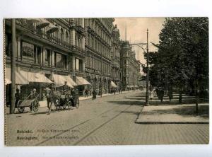 225624 Finland Helsinki store RPPC RUSSIA Kronstadt postcard
