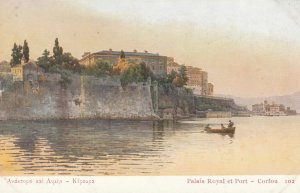 Palais Royal et Port - CORFU , Greece , 00-10s