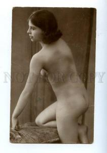 128991 NUDE Woman BELLE Vintage Real PHOTO GA #175 PC