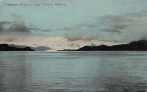 Near VALDEZ, Alaska, 1900-1910's; Columbia Glacier