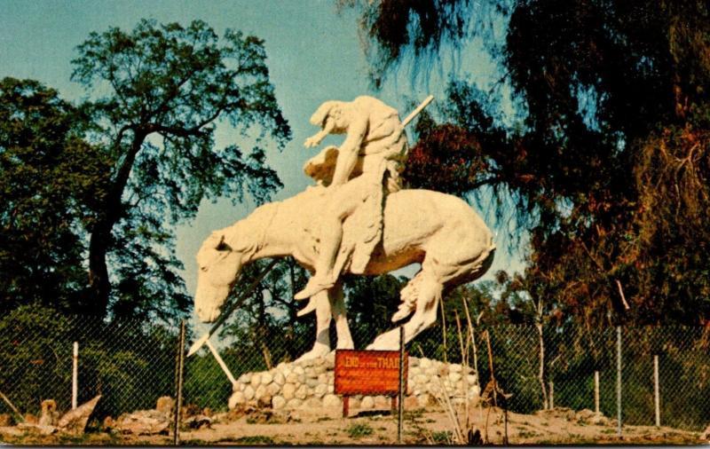 Oklahoma Oklahoma City End Of The Trail Statue