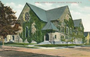 Park Avenue Baptist Church - Rochester, New York - pm 1908 - DB