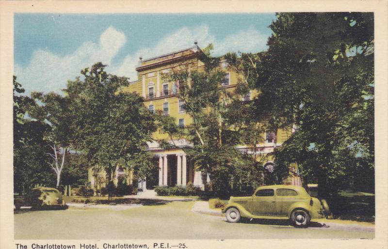 The Charlottetown Hotel, Charlottetown, Prince Edward Island, Canada, 1910-1920s