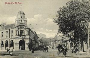 straits settlements, SINGAPORE, Rail Road (1910s)