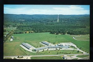 Keene, New Hampshire/NH Postcard, Winding Brook Lodge, Aerial View