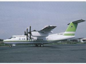 STAR ASIA Airways De Havilland Dash 7 Airplane , MANILA , Philippines , 1994