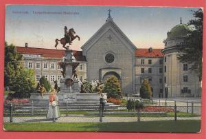 Innsbruck, Leopoldsbrunnen, Hofkirche - Austria - 1918