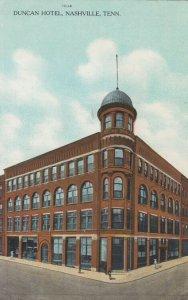 NASHVILLE , Tennessee, 1908 ; Duncan Hotel