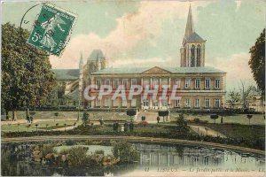 Old Postcard Lisieux Public Garden and Museum