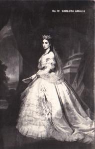 Carlota Amalia Of Mexico Real Photo