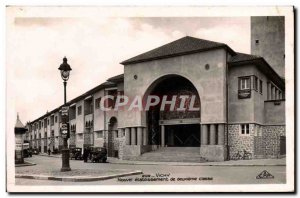 Old Postcard From New Vichy second class establishment