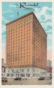 LOUISVILLE , Kentucky , 1910-30s ; The KENTUCKY Hotel