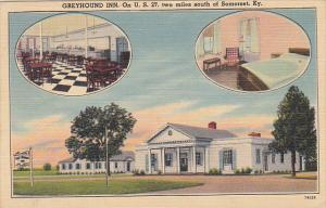 Kentucky Somerset Greyhound Inn 1953