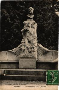 CPA AMBERT Le Monument aE. Chabrier (408864)