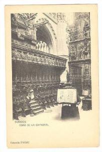 Interior, Coro De La Catedral, Burgos (Castilla Y Leon), Spain, 1900-1910s