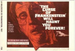 Postcard of The Curse of Frankenstein Movie #1