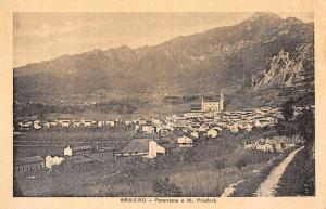 Arsiero Italy Birdseye View Of City Antique Postcard K77735