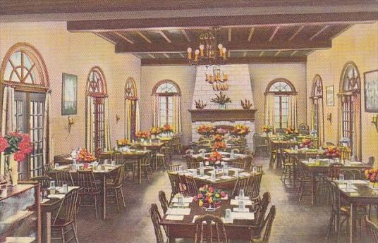 Florida Cypress Gardens Restaurant Interior Dining Room