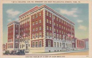 Pennsylvania York Y M C A Building Cor No Newberry And West Philadelphia Streets