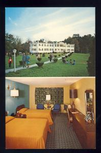 Lebanon, Connecticut/CT/Conn Postcard, Grand Lake Lodge, Colonial Hall