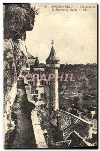 Postcard Old Rocamadour Vue Prize De La Maison De Marie