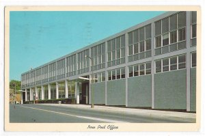 PA Harrisburg  New Post Office Building Vintage Postcard Posted 1963