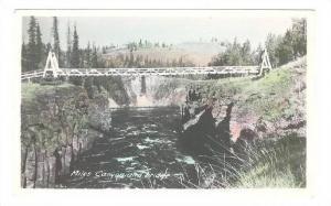 RP: Miles Canyon & Bridge ,  WHITEPASS , Y.T. , Canada , 1920-40s