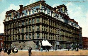 Ohio Cleveland City Hall 1909