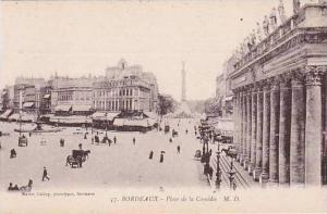 France Bordeaux Place de la Comedie
