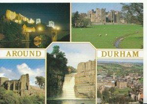 Durham Postcard - Views Around Durham - Ref 9778A
