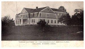 Connecticut  Storrs , C.A.C. ,   Grove Cottage