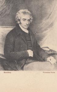 Robert Southey Politician Old Valentines Postcard