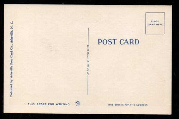 Color PC The North Carolina State Toast., Unused