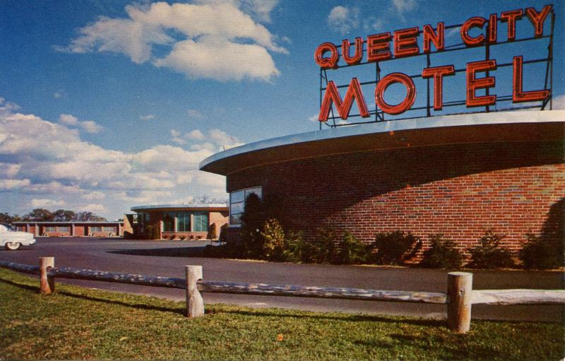 NH - Manchester. Queen City Motel
