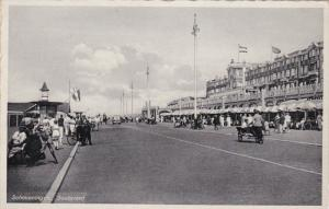SCHEVENINGEN, Zuid-Holland, Netherlands, 1930-1940's; Boulevard