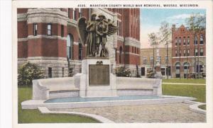 Wisconsin Wausau Marathon County World War Memorial
