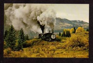 NM Cumbres & Toltec Train Railroad CHAMA NEW MEXICO CO