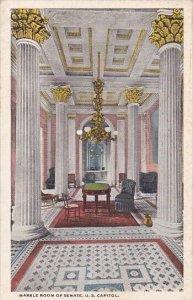 Marble Room Of Senate U S Capitol Washingon D C