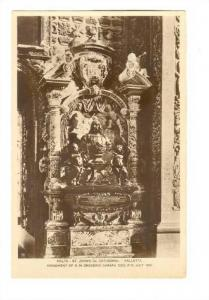 RP; Malta - Valletta , 20-40s : St John´s Cathedral ; Monument of G.M.Gregor...