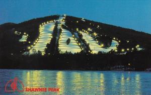 Maine Bridgton Shawnee Park Night Skiing Facility