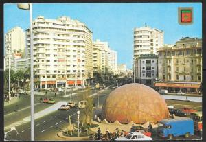 1990 Morocco, Casablanca, Plaza Mohamed, mailed to USA